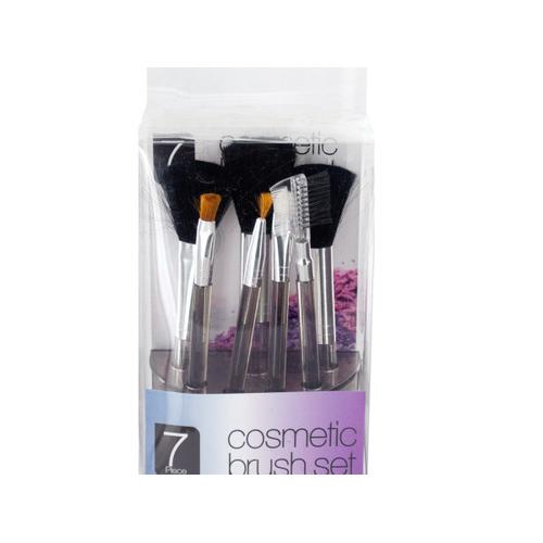 Cosmetic Brush Set in Standing Organizer ( Case of 8 )