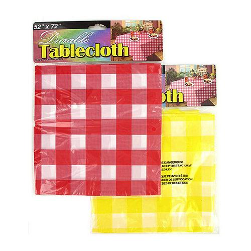 Checkered Picnic Tablecloth ( Case of 48 )