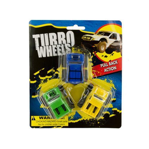 Pull Back Turbo Trucks ( Case of 24 )