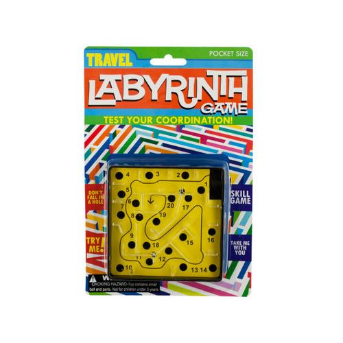 Travel Labyrinth Game ( Case of 96 )