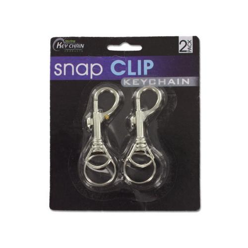 Snap Clip Key Chains ( Case of 12 )