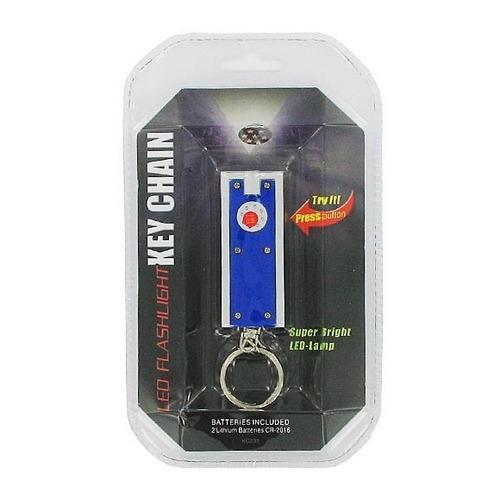 LED Flashlight Key Chain ( Case of 48 )
