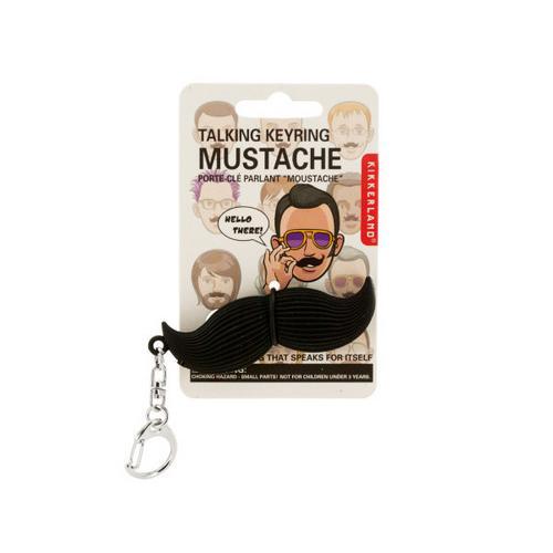 Talking Mustache Keychain ( Case of 18 )