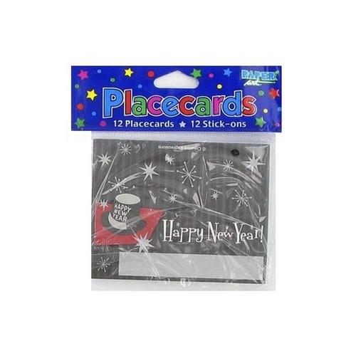 New Year's Placecards ( Case of 108 )