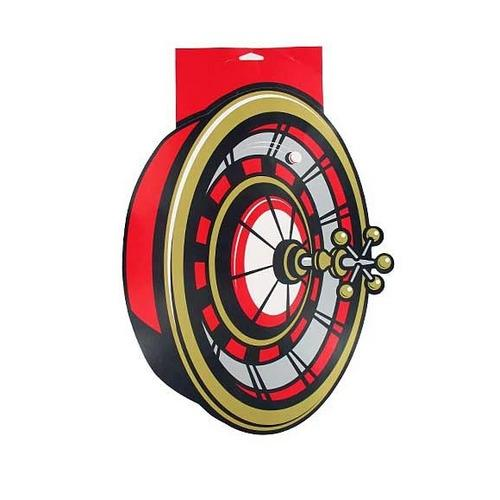 Roulette Wheel Cardboard Party Cutout ( Case of 36 )