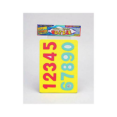 Alphabet & Number Foam Puzzle ( Case of 96 )