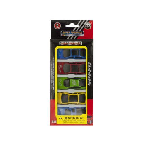 Die Cast Metal Race Cars Set ( Case of 16 )