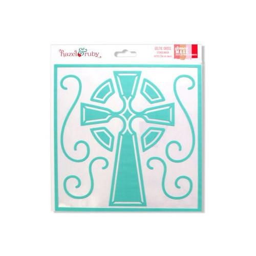 Celtic Cross Stencil Mask ( Case of 48 )