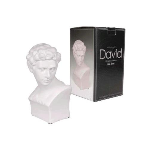 Michelangelo's David Ceramic Statuette Coin Bank ( Case of 6 )