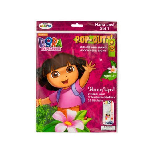 Dora the Explorer Pop-Outz Hang Ups Activity Set ( Case of 40 )