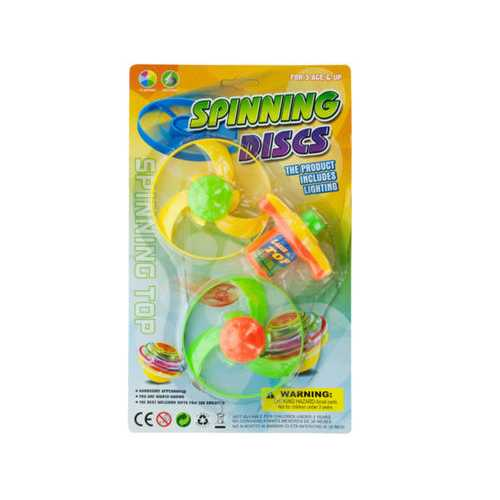 Spinning Discs Toy Set ( Case of 12 )