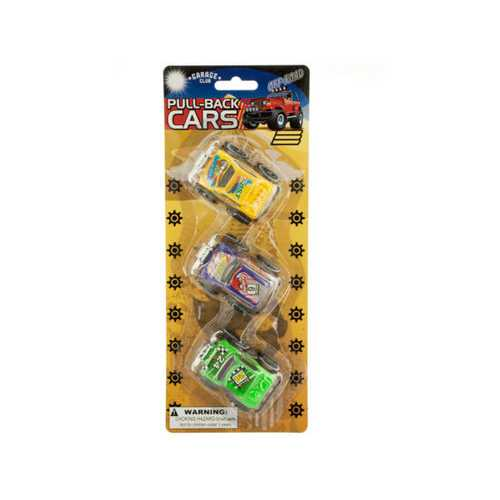 Pull-Back Off-Road Toy Trucks Set ( Case of 12 )