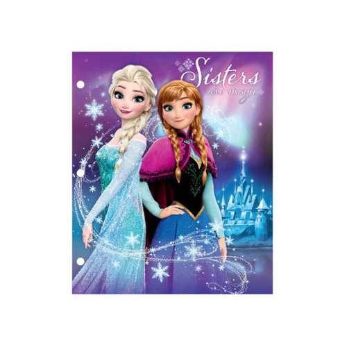 Disney Frozen Poly Portfolio Folder Countertop Display ( Case of 72 )