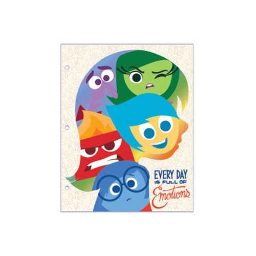 Disney Pixar Inside Out Portfolio Folder Countertop Display ( Case of 72 )