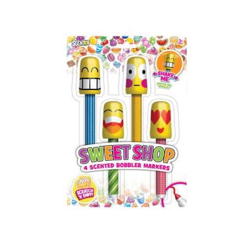 Sweet Shop Scented Bobbler Markers Set ( Case of 24 )