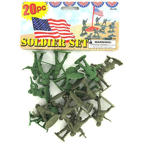 Plastic Soldiers Play Set ( Case of 24 )