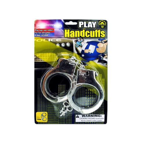 Police Play Plastic Handcuffs ( Case of 48 )
