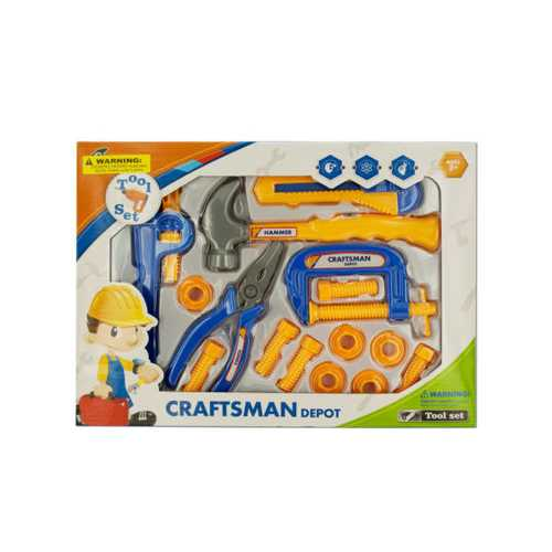 Kids' Construction Tool Play Set ( Case of 6 )