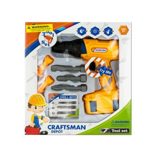 Kids' Electric Drill Play Set ( Case of 6 )