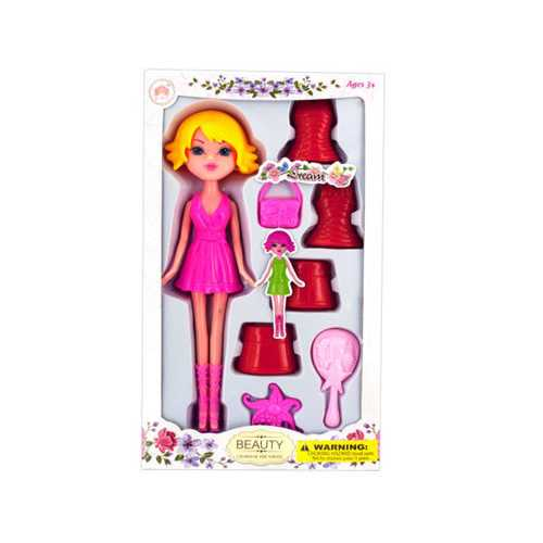 Colorful Changing Dress Doll ( Case of 4 )
