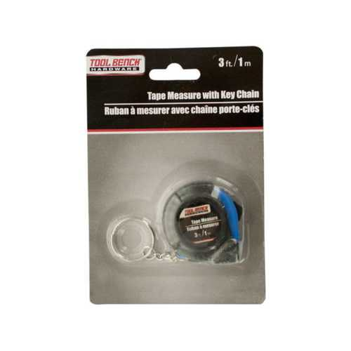 Mini Tape Measure with Key Chain ( Case of 24 )
