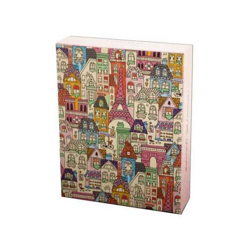 Paris Notecards & Envelopes Set ( Case of 12 )