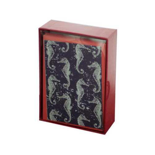 Seahorses Cards & Envelopes Set ( Case of 72 )