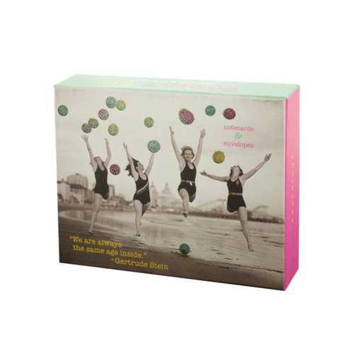 Women's Wit Notecards & Envelopes Set ( Case of 24 )