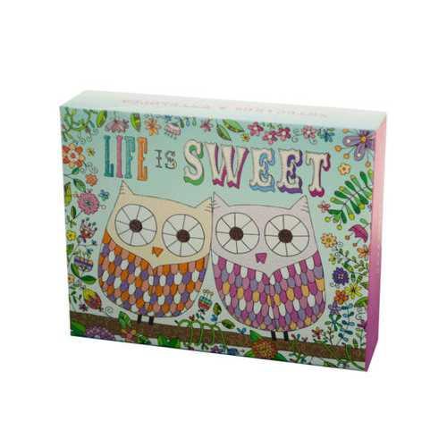 Life is Sweet Notecards & Envelopes Set ( Case of 12 )