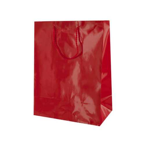 Medium Solid Red Gift Bag ( Case of 48 )