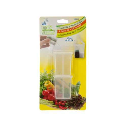 Travel Salt & Pepper Shaker Set ( Case of 24 )