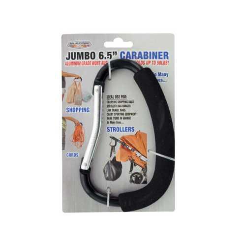 Jumbo Aluminum Carabiner ( Case of 12 )