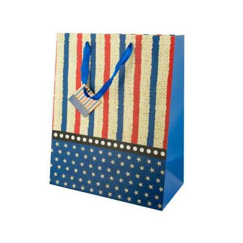 Large Stars & Stripes Gift Bag ( Case of 24 )