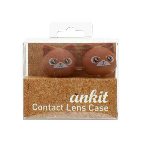 Brown Kitty Contact Lens Case ( Case of 24 )