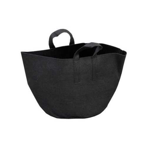 Black Felt Multi-Purpose Tote Bag ( Case of 48 )