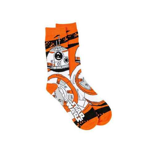Star Wars Men's BB-8 Droid Socks ( Case of 72 )