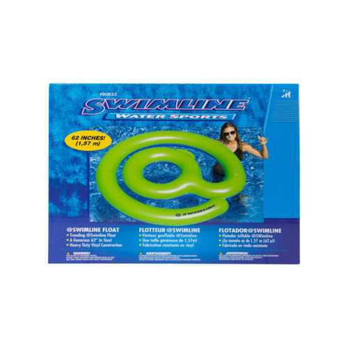 """""""@"""" Sign Round Pool Float ( Case of 4 )"""