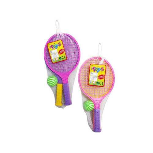 2 pack racket play set 2 asst colors ( Case of 24 )