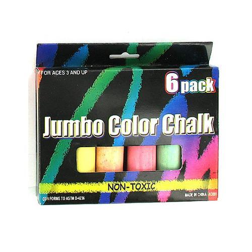 Multi-Color Jumbo Chalk Set ( Case of 48 )