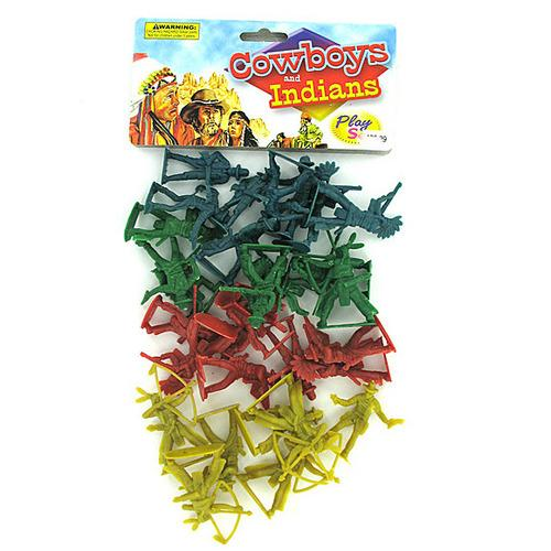 Cowboys and Indians Play Set ( Case of 24 )