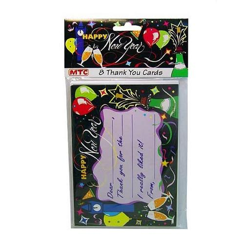 New Year Thank You Cards ( Case of 72 )