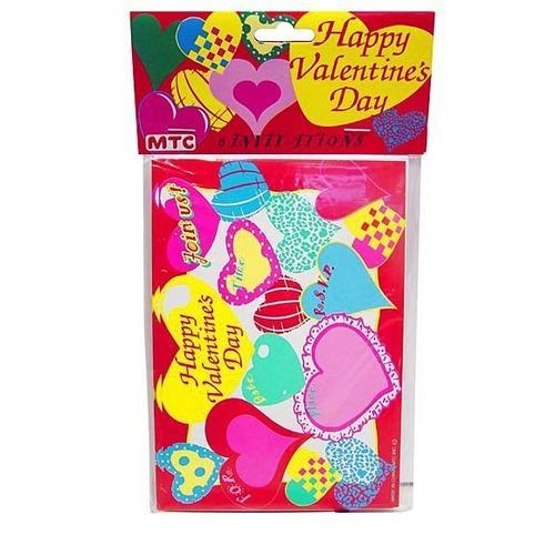 Happy Valentine's Day Invitations & Envelopes ( Case of 72 )