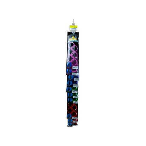 10 Pk Glow Bracelets Assorted Colors ( Case of 60 )