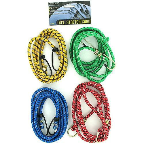 Stretch Cord with Hooks ( Case of 48 )