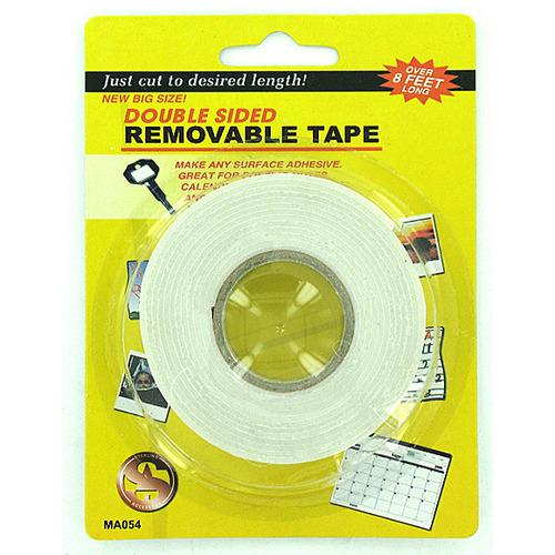 Double Sided Removable Tape ( Case of 24 )