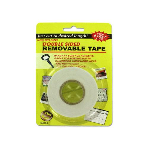 Double Sided Removable Tape ( Case of 36 )