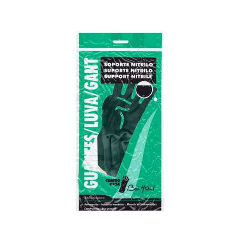Large Nitrile Coated Work Gloves ( Case of 24 )