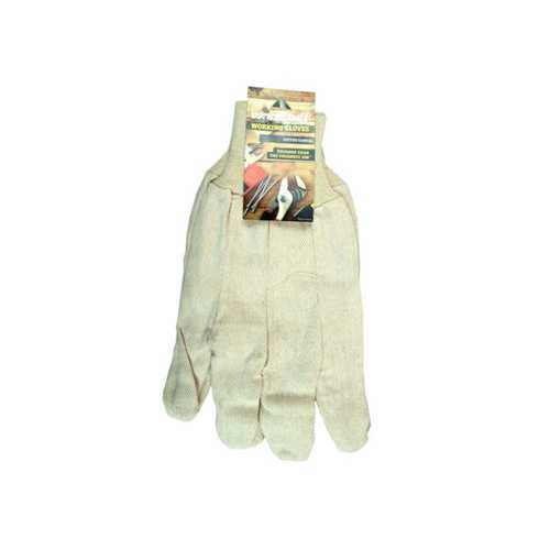 Universal Size Cotton Canvas Working Gloves ( Case of 24 )