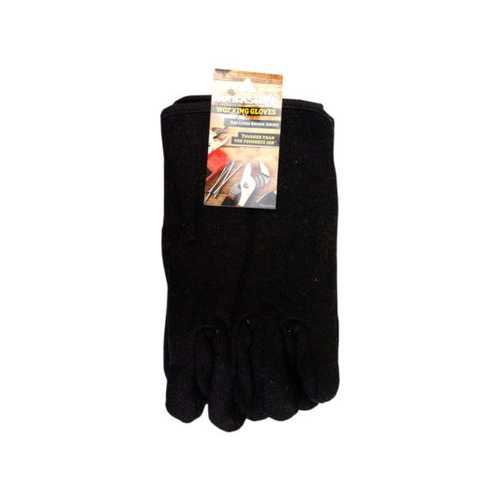 Universal Size Red Lined Brown Jersey Working Gloves ( Case of 12 )