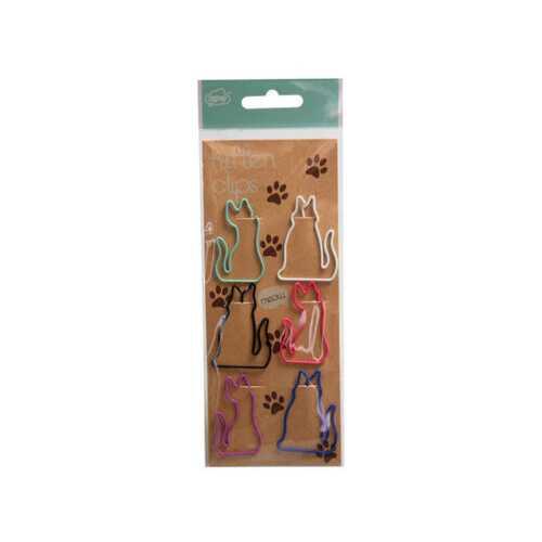 cat paper clips ( Case of 24 )